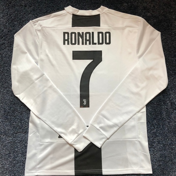 new style 57c84 54d25 Juventus Ronaldo Long Sleeve Jersey Large Boutique